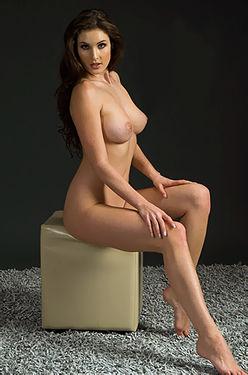 Gorgeous Nude Brunette