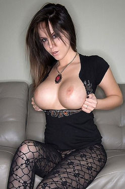 Bryci - Black Stockings And Black Dildo
