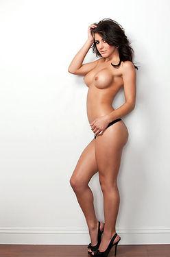 Krystal Harlow Sexy Black Lingerie